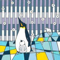 ペンギンとシロクマ